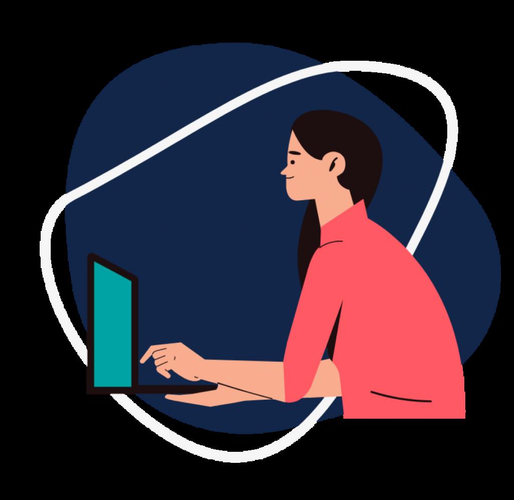 Typing work - Computer